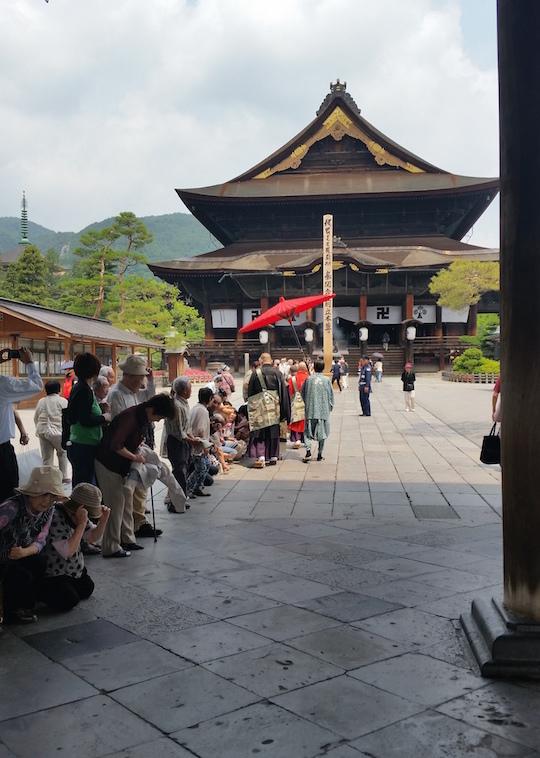 Zenkoji Temple, Kaidan Meguri