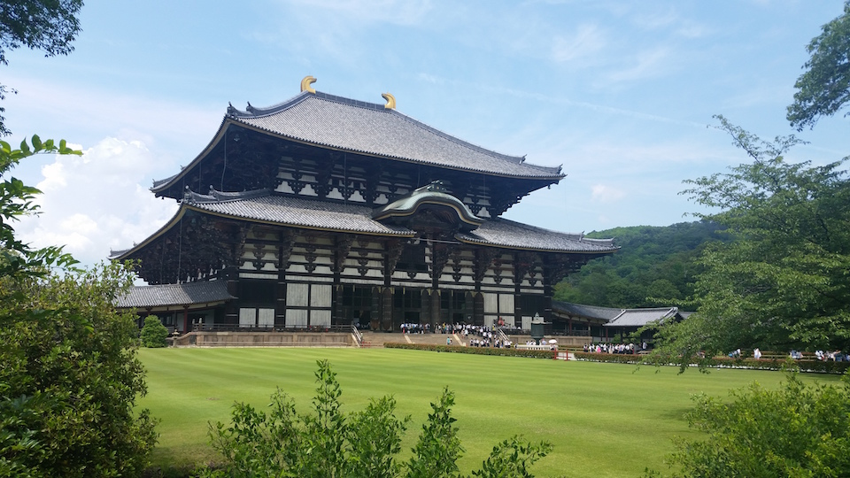 Todaiji, guess what's inside?