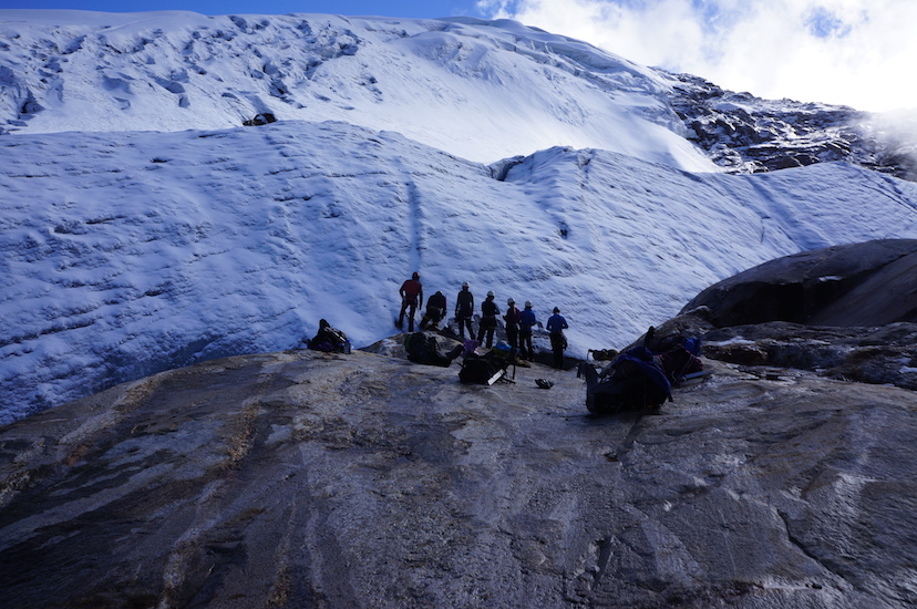 Glacier, hope you don't melt too fast