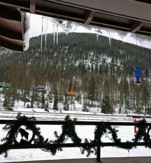Izaak Walton (cozier than Glacier National Park in the winter)