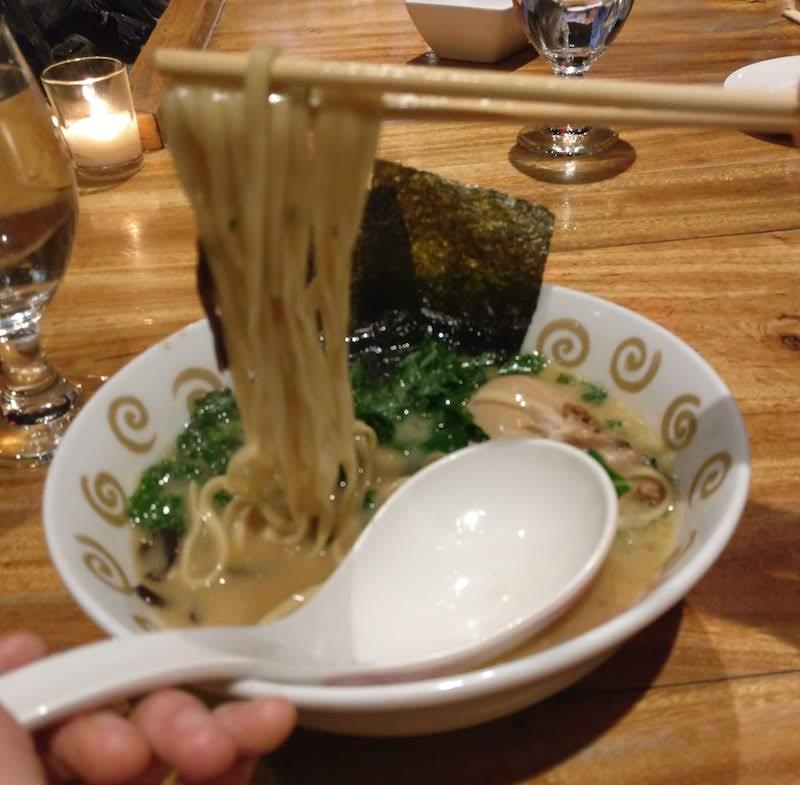 Tanakaya noodles